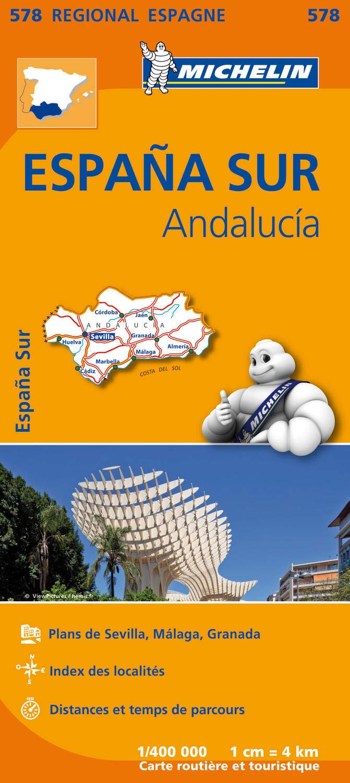 Espana sur : andalucia (Régional Espagne): Amazon.es: Michelin: Libros en idiomas extranjeros