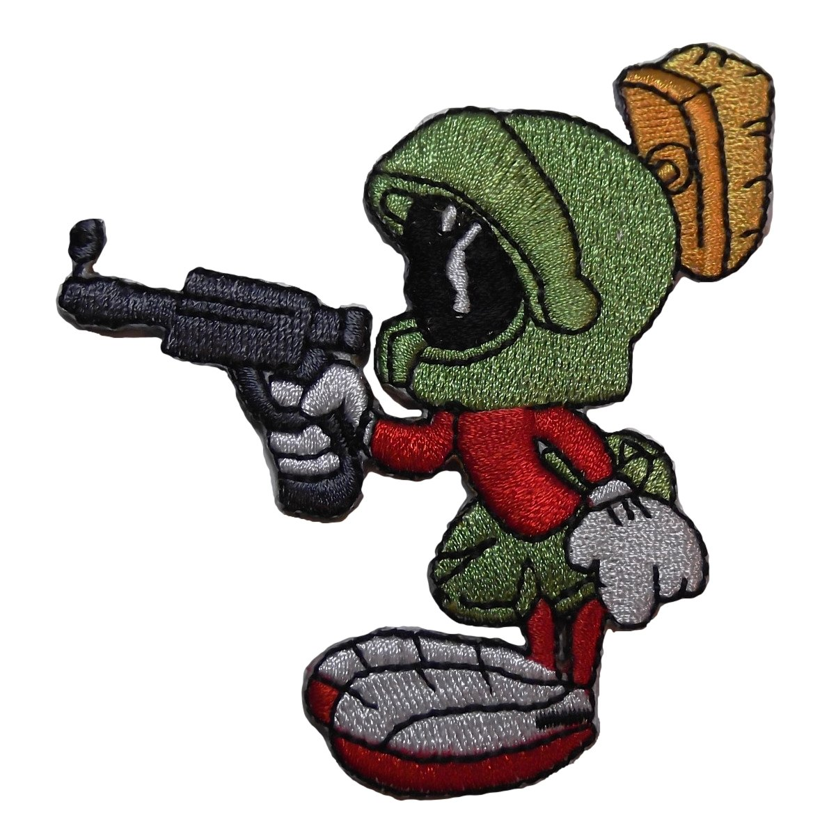 amazon com marvin the martian pointing gun embroidered figure