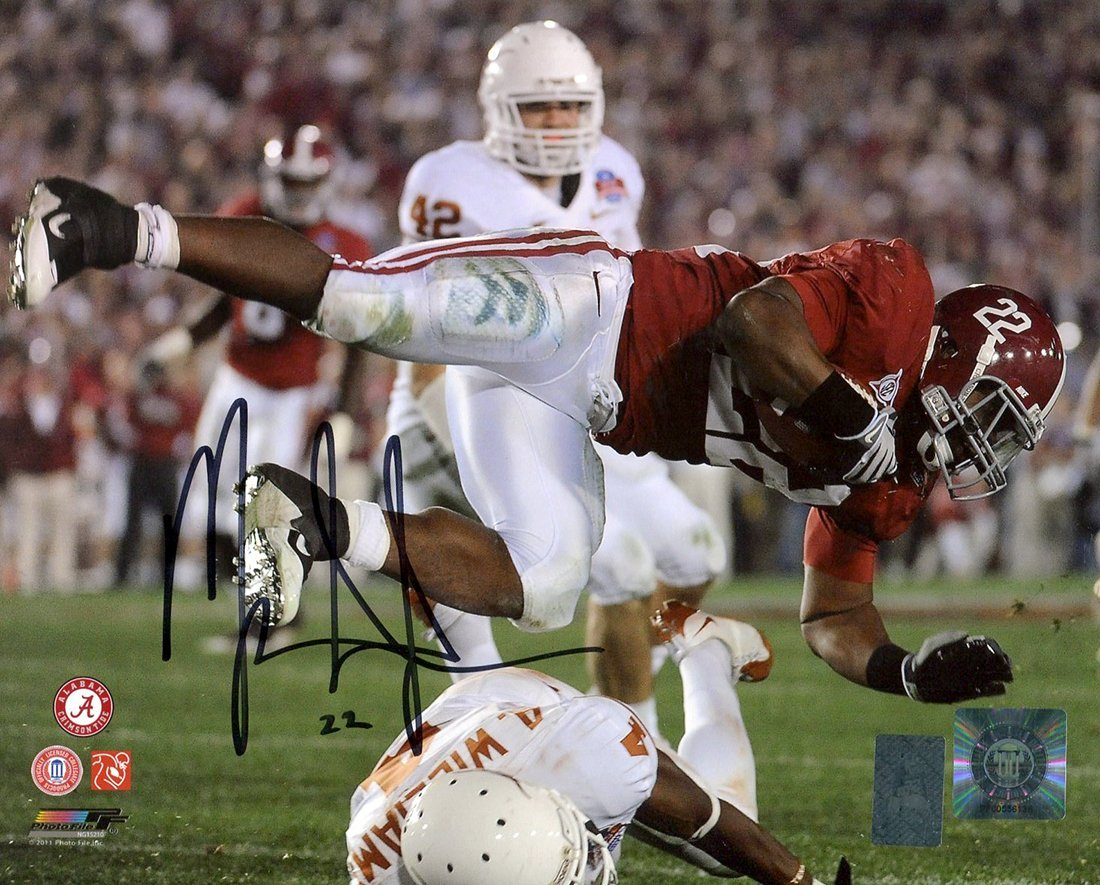 Mark Ingram Signed Autographed Alabama Crimson Tide 2010 National Championship Game 8x10 Photo TRISTAR COA TRISTAR Productions