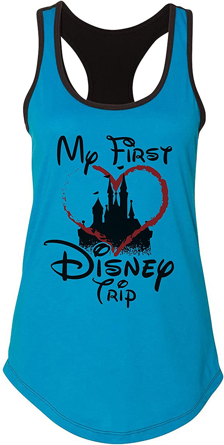 Cute Group Vacation Shirts - My First Family Trip Royaltee Party Tees