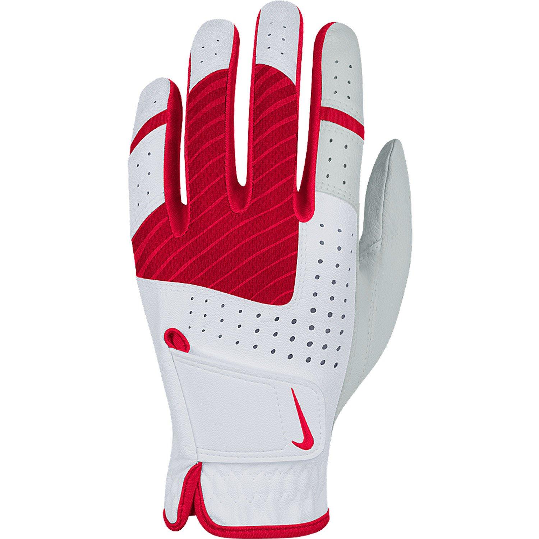 Nike Golf Women s Tech Xtreme V Regular Glove Left , White Laser Crimson Fruit Punch,