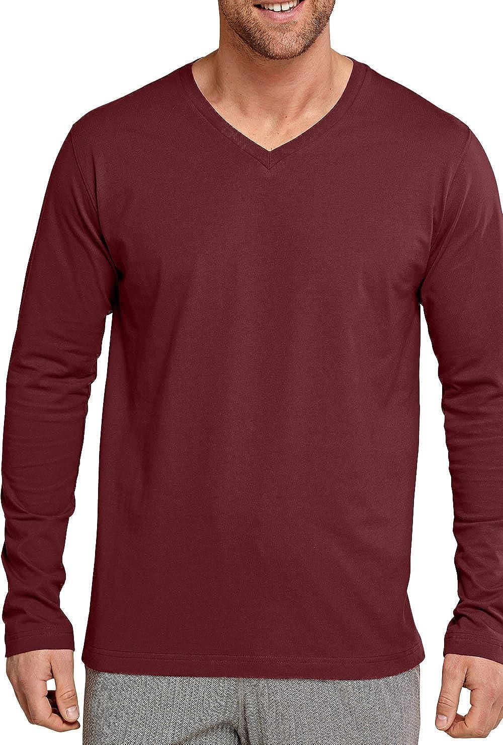 Schiesser Mix /& Relax Langarm-Shirt Herren