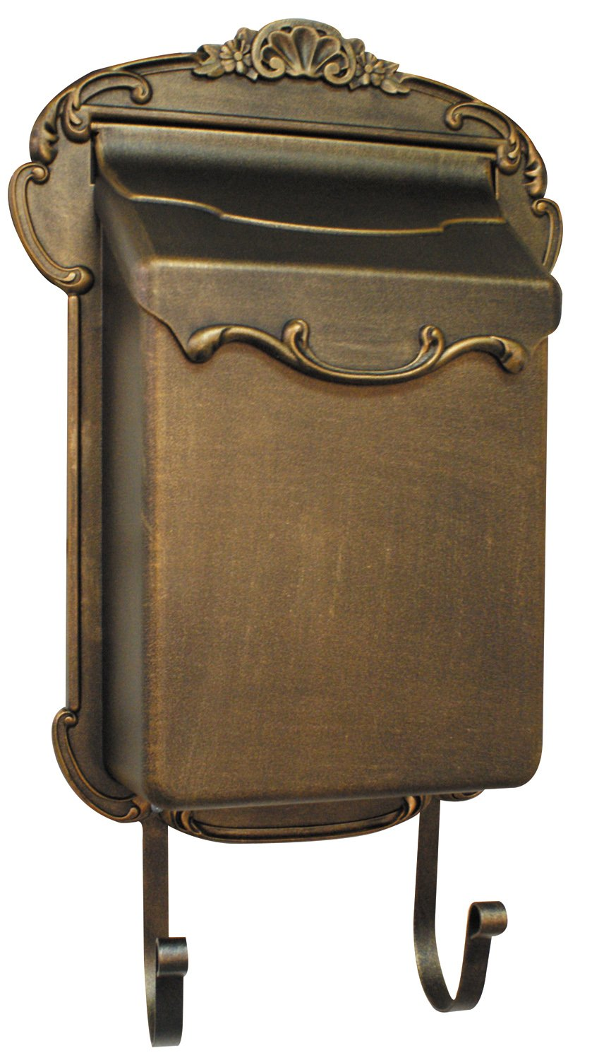 Special Lite Products SVV-1013-BR Victoria Vertical Mailbox, Bronze by Special Lite Products Company, Inc.
