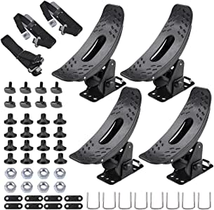 Yescom 2 Pairs Kayak Arm Roof Rack Universal Canoe Boat Car Top Mount Carrier Holder