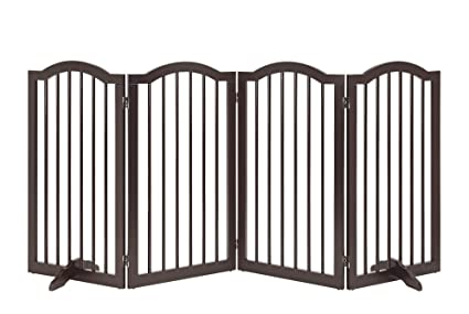Amazon Com Unipaws Freestanding Arch 36 Tall Dog Gate W Support