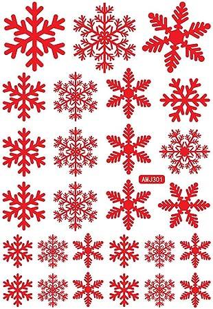 Vovo Pvc Flocon De Neige Dessin Anime Plat Decoration De Noel