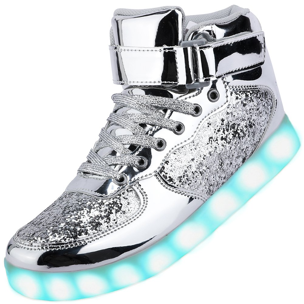 Odema Unisex LED Shoes High Top Light