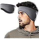 Winter Fleece Ear Warmers Muffs Headband for Men Women Kids Ski Running Cycling