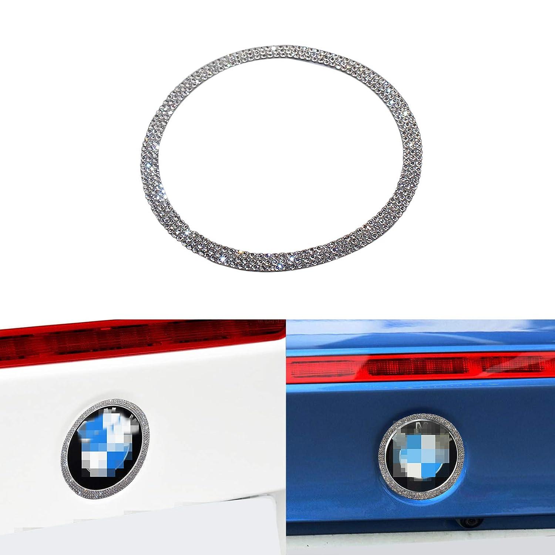 Trim Covers Decal Diamond Sticker Interior Decorations 3 4 5 Series X3 X5 E30 E36 E34 E39 F30 F34 F36 F15 G01 G30 G31 Bling Bling Car Steering Wheel Logo Caps for B M W Accessories