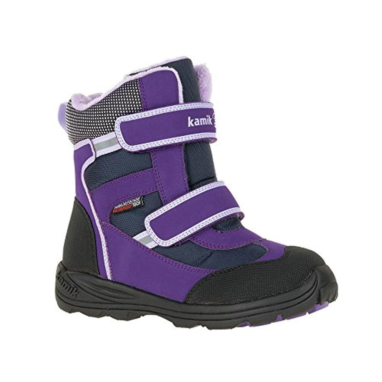 Kamik Child Slate Snow Boots & Toe warmers Bundle