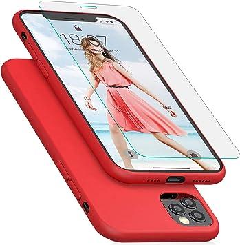 IVSUN Cover iPhone XS Max Silicone Custodia Protettiva Completa