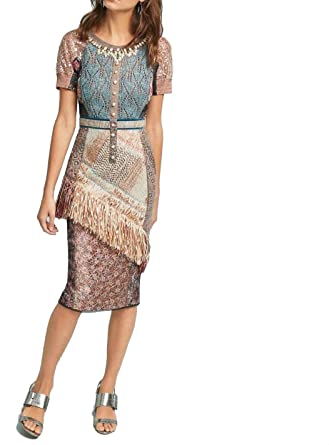 e33f9f8bf9c5 Byron Lars Anthropologie Beachcomber Column Dress NWT (6) at Amazon ...