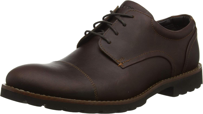 Rockport Sharp & Ready Channer Cap Toe, Zapatos de Cordones Oxford para Hombre