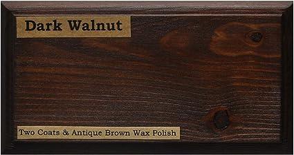 Tinte para madera a base de agua de Littlefairs, respetuoso con el medio ambiente, Nogal oscuro, 500 ml