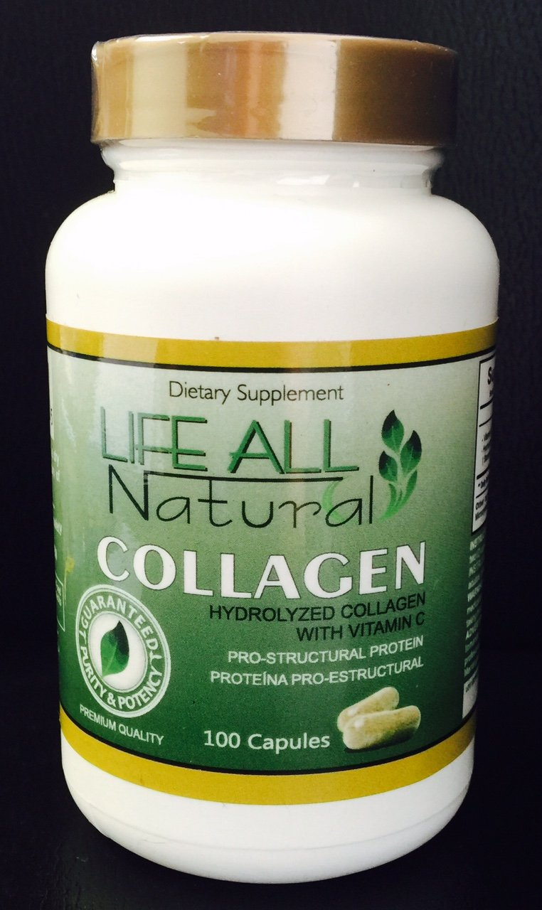 Amazon.com: Hidro Colagina , Collagen Hidrolyzed + Vitamin C, Colageina 10 Colagen 1000 Mg: Health & Personal Care