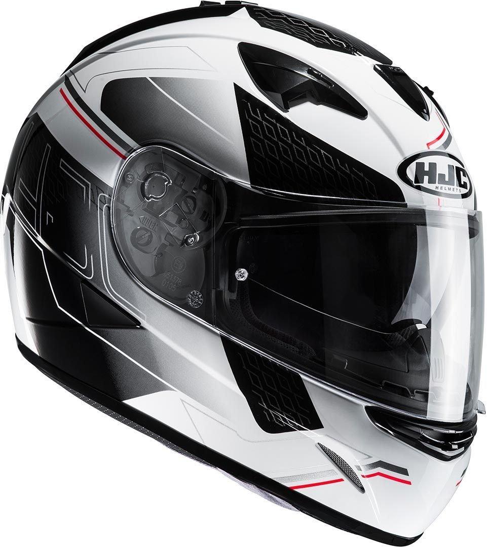 HJC Moto Casco, TR300 Cetus mc1sf, Negro/Rojo, tamañ o L TR300Cetus mc1sf tamaño L HJC EUROPE SARL 2383_25401