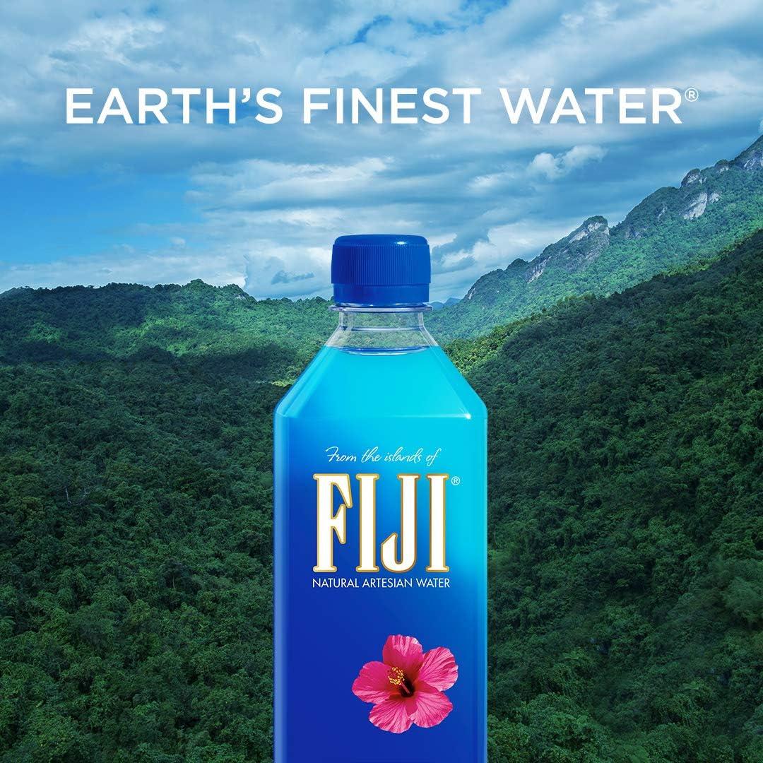 Fiji Natural Artesian Water 16 9 Fl Oz Pack Of 24 Amazon