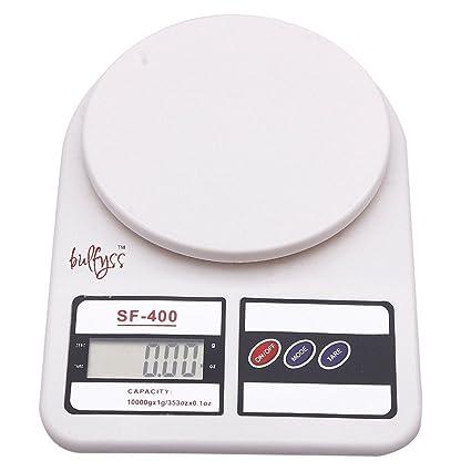 buy bulfyss electronic kitchen digital weighing scale 10 kg