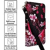 XYZ® Moto Droid Maxx 2 Case (Verizon) Motorola Slim Leather Luxury Flip Design Wallet Pouch Case (Flower Butterfly)