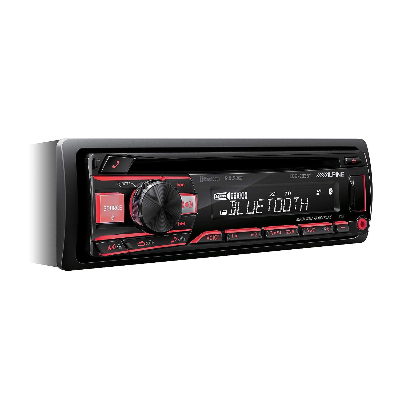 Couleur Noir /Radio de Voiture Alpine cde-203bt/