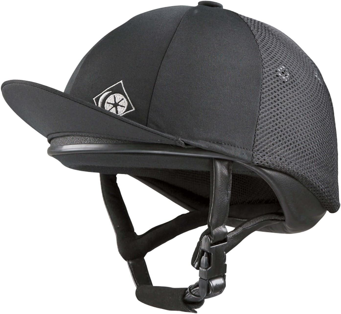 Charles Owen Pro II horse riding skull hat helmet low profile vented pro 2