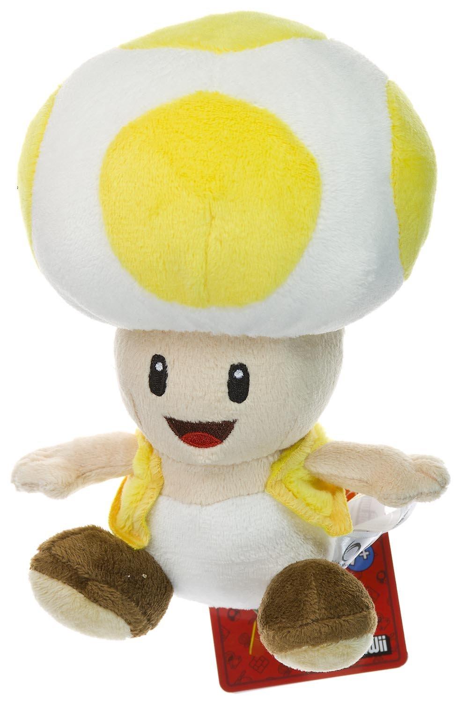 Gelb, Toad, Figur, 17,1 Plüsch-New Super Super Super Mario Bros. Wii Plüsch-Serie b54e6a