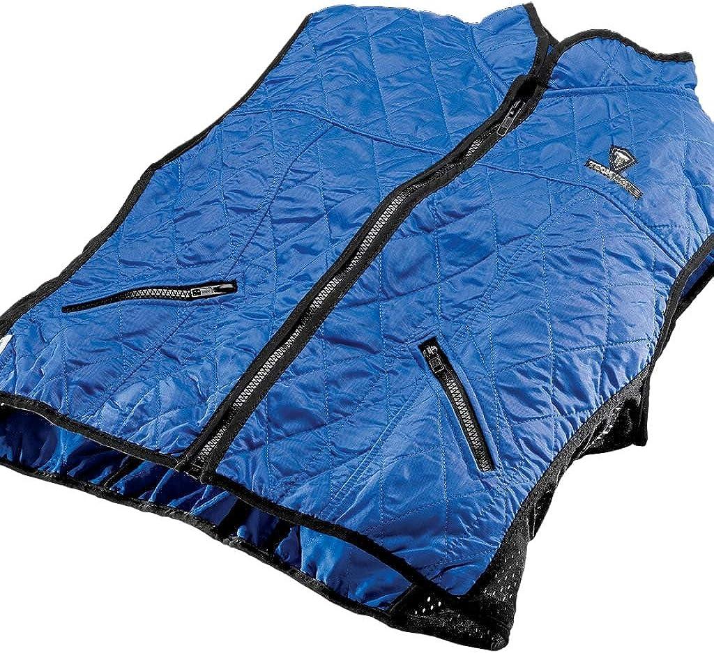 HyperKewl Evaporative Cooling Female Deluxe Sport Vest Blue