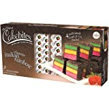 The Original Cakebites Classic Italian Rainbow Cake - Family Pack
