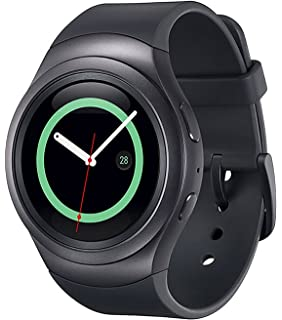 Samsung Gear S2 R730A Smartwatch (AT&T) - Black / Dark Gray (Certified Refurbished