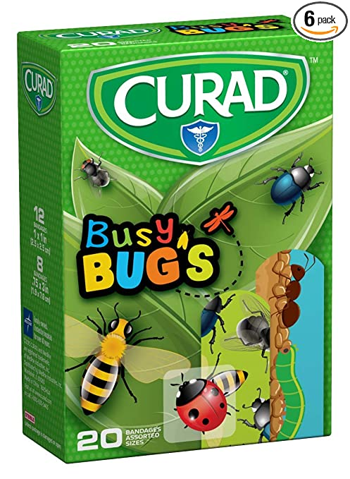 Curad Bandages 120ct Busy Bugs...
