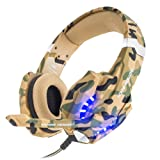 Amazon Price History for:BENGOO Gaming Headset for PS4 Professional 3.5mm PC LED Light Game Bass Headphones Stereo Noise Isolation Over-ear Headset with Mic Microphone for PS4 Laptop Computer and Smart Phone-Camouflage