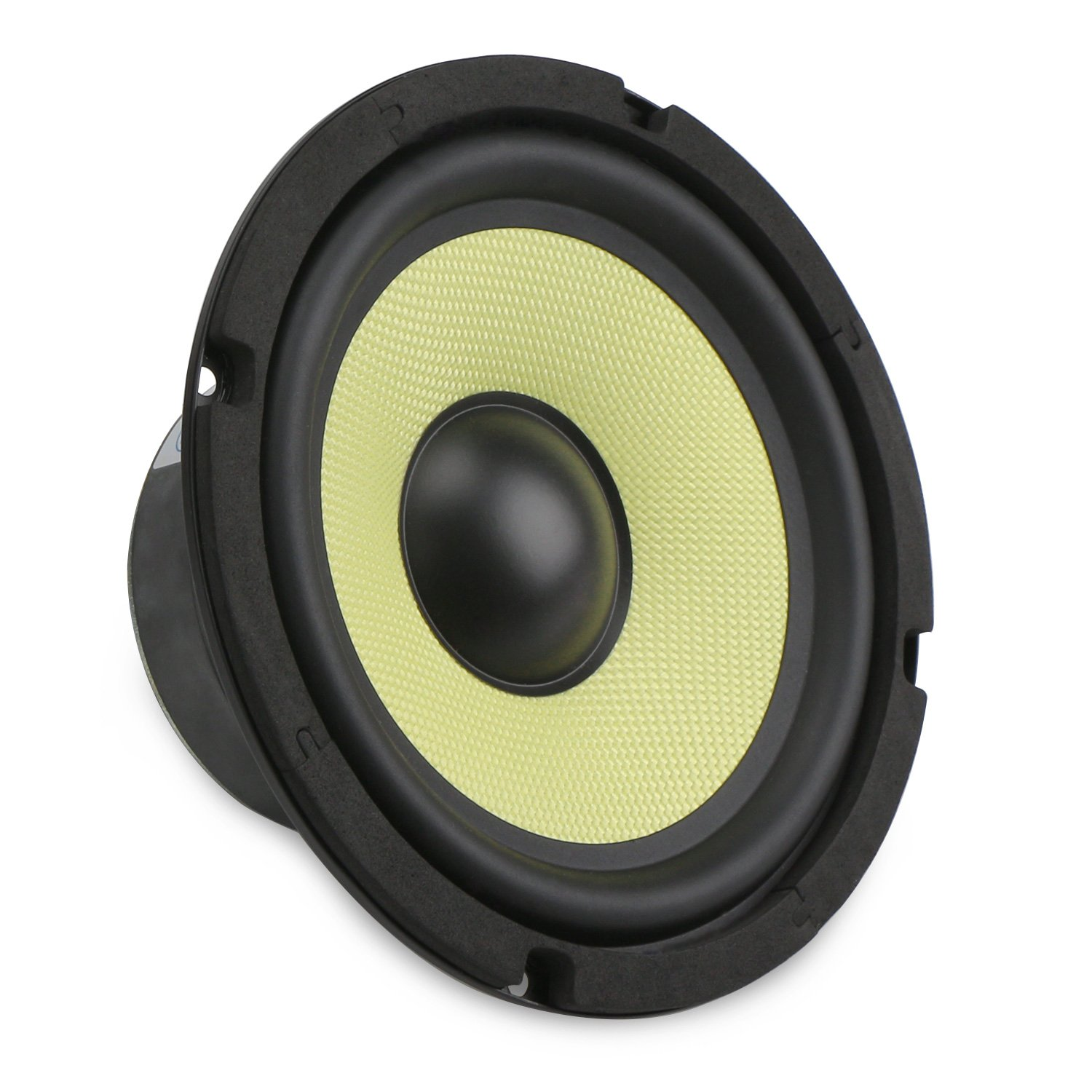 DROK 6.5'' Subwoofer Hifi Speaker Glass Fiber Mid-bass 4 Ohm Audio Speakers, 88Db High Sensitivity Home Audio Stereo Speaker, 35W Loudspeaker DIY Component Speakers Car Speakers For Sound System