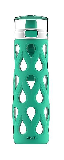 Ello Gemma cristal botella de agua, verde menta, 22 ml