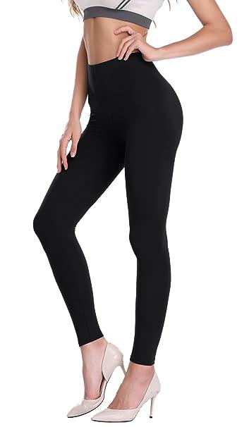 Amazon.com: De la Mujer Modal Longitud de tobillo Leggings ...