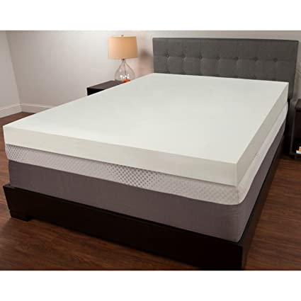 Amazon Com Mattress Pad Orthopedic Memory Foam 4 Topper Pillow