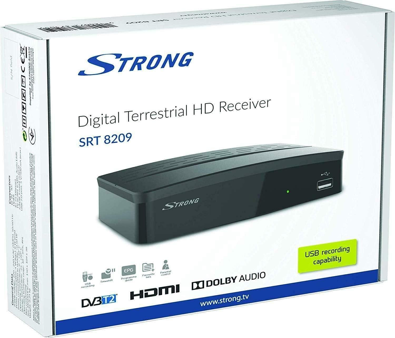 Decodificador, receptor digital terrestre ,DVB-T2 TV SCART HDMI 1080P Reg PVR HD: Amazon.es: Electrónica