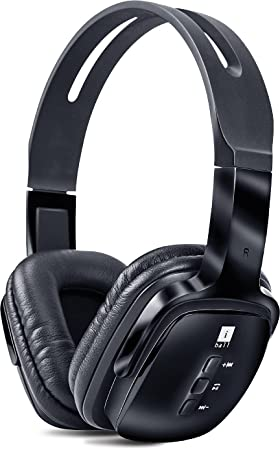 I Ball Exquisite Design Pulsebt4 Neckband Wireless Headphones With Mic,Black Mobile Phone Bluetooth Headsets