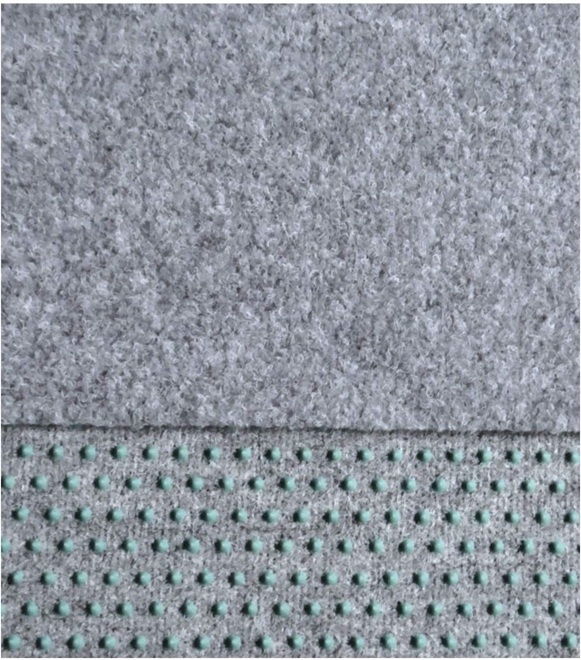 Kunstrasen 100 x 150 cm Rasenteppich,150 cm Breite Farbe hellgrau