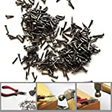Small Nails, BLUELEC 200PCS Wooden Nail for