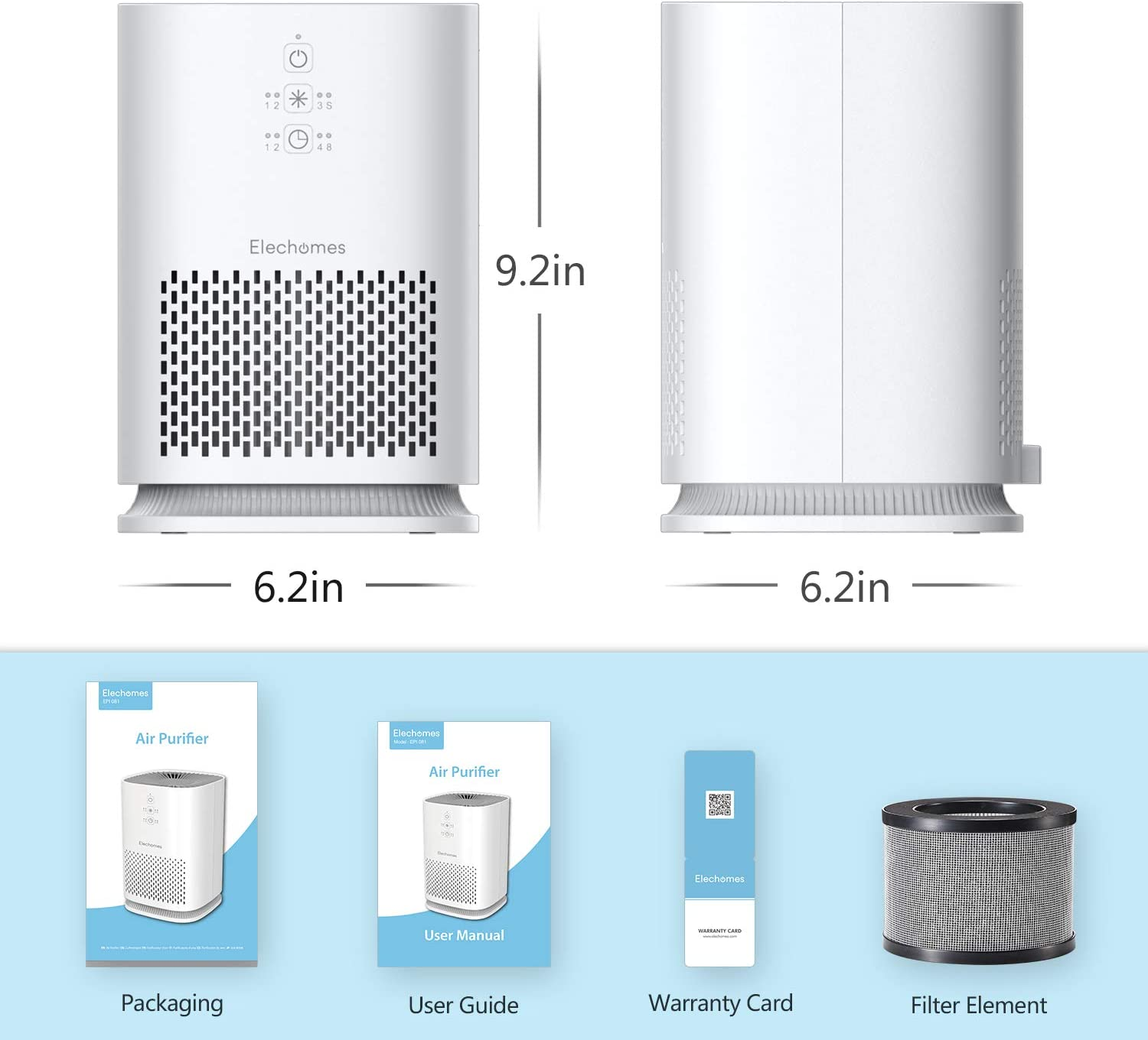 Amazon coupon code for Air Purifier for Home with True HEPA Filter