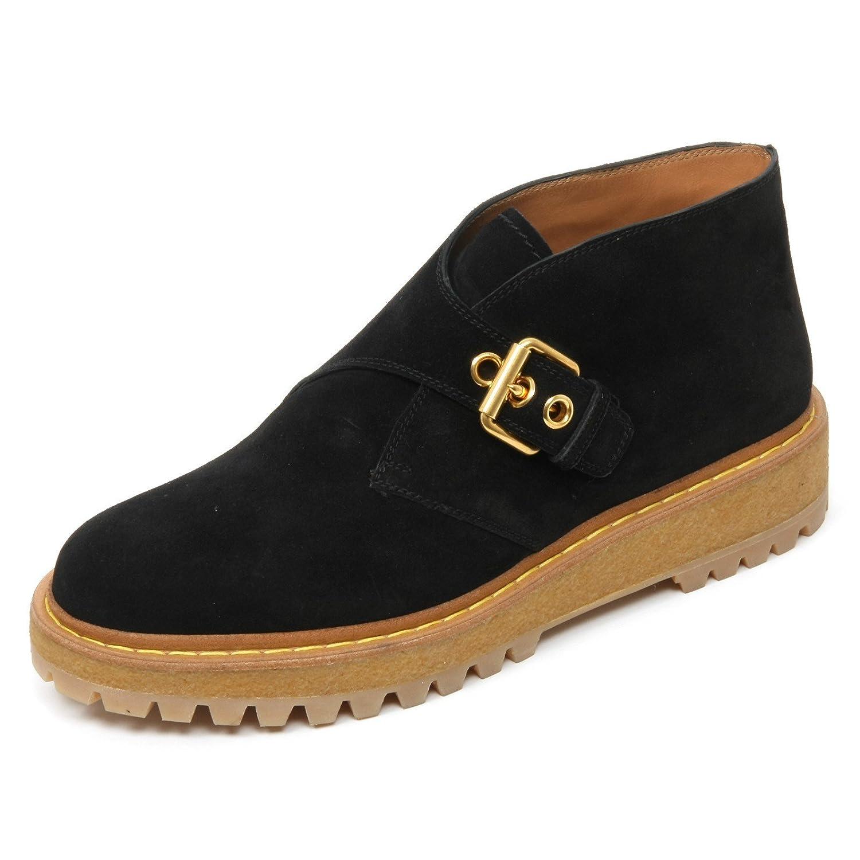 B9692 scarpa donna CAR SHOE scarpe scamosciato nero shoe woman36 EU Nero