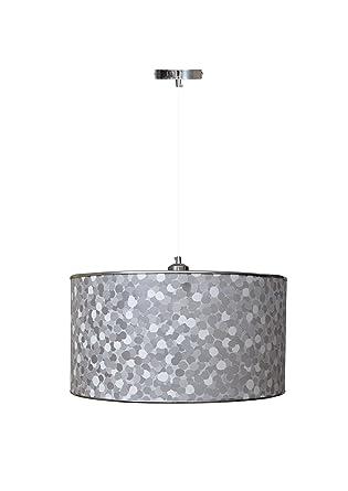 Lámpara Colgante de techo/lámpara con pantalla tela ...