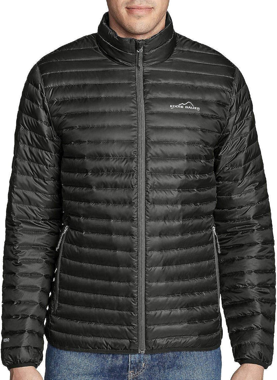 Eddie Bauer NWT Men/'s Microlight Premium Down Traveler Jacket Pack-able EB650