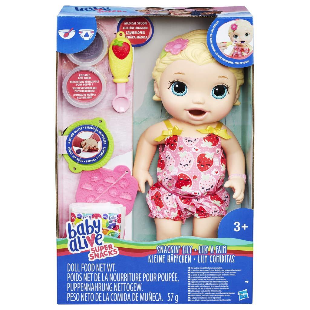 Hasbro C2697EU5 - Baby Alive Fütterspaß Lily, Puppe H0632697