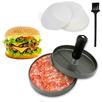 Compra Joyoldelf prensador de hamburguesa, molde para hacer hamburguesas caseras antiadherente en Amazon.es