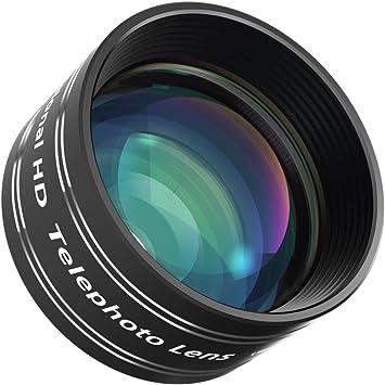 Mozeat Lente para Móviles Telefoto 2X HD Profesional, Lente 60mm ...