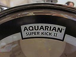 Aquarian Super Kick 2 : customer reviews aquarian drumheads skii22 super kick ii double ply 22 inch bass ~ Vivirlamusica.com Haus und Dekorationen