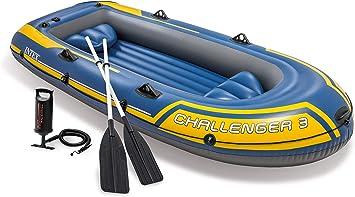 Intex 68370NP - Barca Hinchable Challenger 3 con Remos 295 x ...