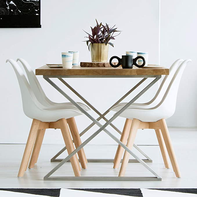 Esszimmerstühle 2 4er Set Stuhl Küchenstuhl Esszimmerstuhl Wohnzimmerstühle PU