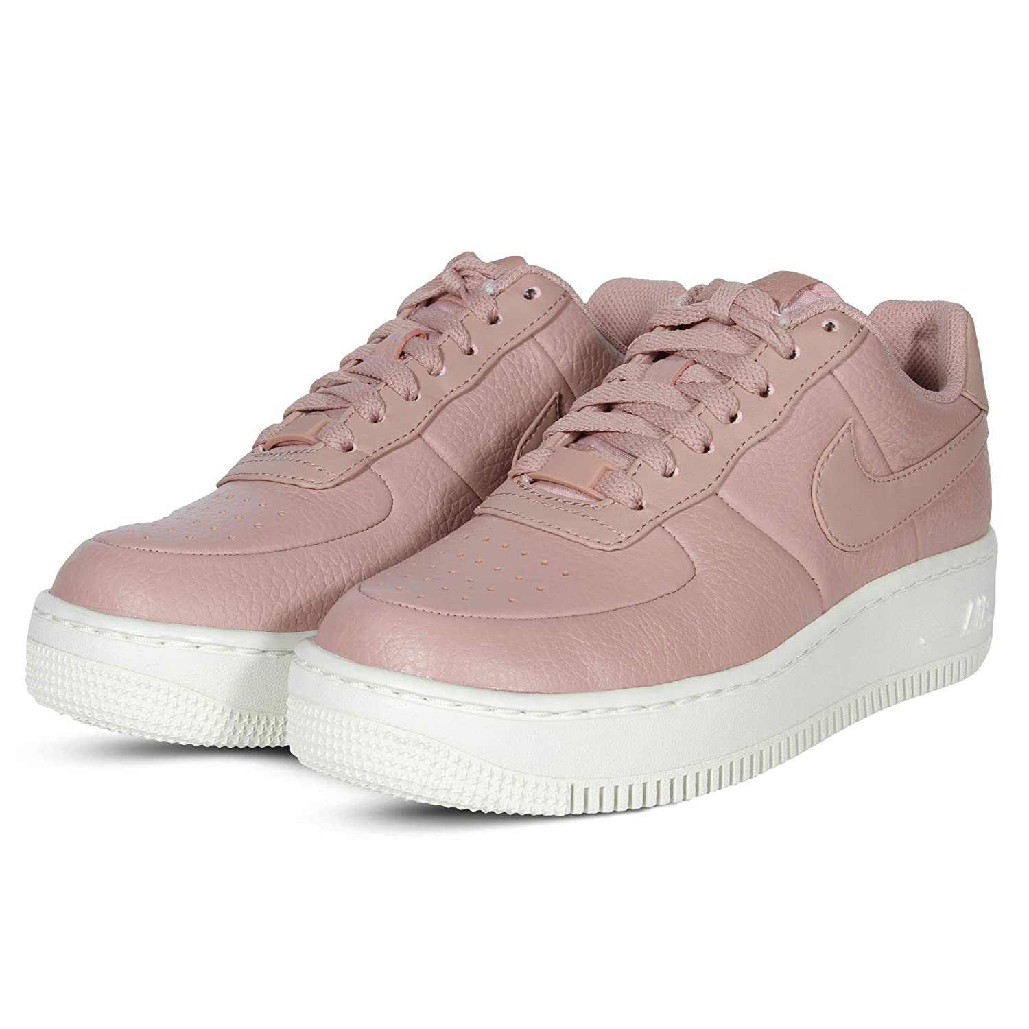 pretty nice 6ada4 bf91f Amazon.com   Nike Women s Air Force 1 Upstep Particle Pink White (10 B(M)  US)   Shoes